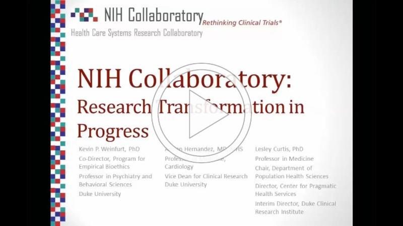 NIH Collaboratory Grand Rounds