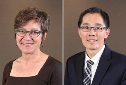 Dr. Sheana Bull and Dr. Michael Ho