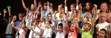 Kids Worshiping God