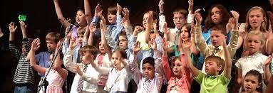 Kids Worshiping God