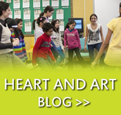 The Heart and Art blog
