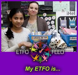 My ETFO is...