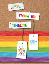 LGBTQ Education Timeline - booklet cover