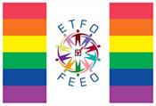 ETFO PRIDE flag