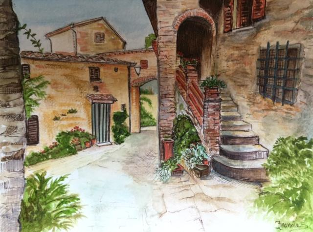 Tuscany by Frannie Hoffman