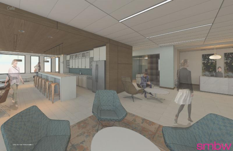VBA on Main lounge-reception-carrels
