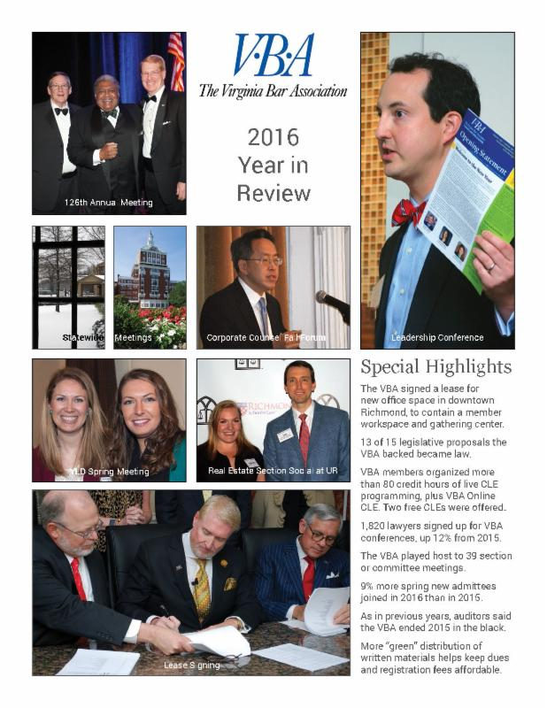 2016 Annual Report cover photo
