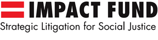 impact fund logo.  red equal sign and then the words impact fund
