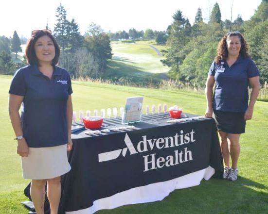 Adventist Health Sponsoring Golf Tournament