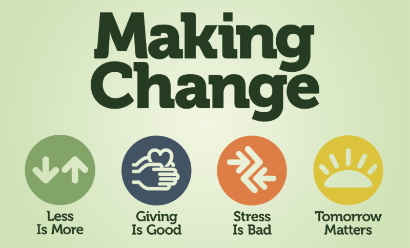 Making Change - new sermon series at Lake Hills Church