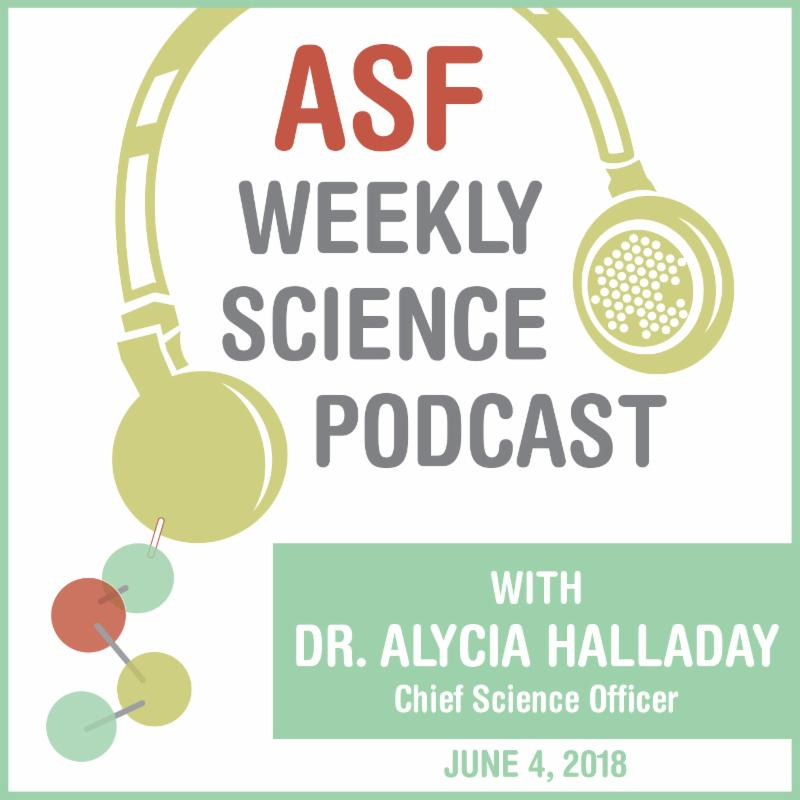 ASF Weekly Science Podcast_ June 4_ 2018 Logo