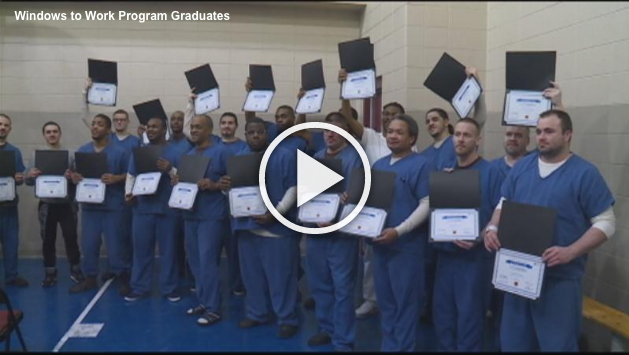 Watch WKOW's short video of the Windows to Work graduation.