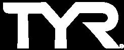TYR white logo