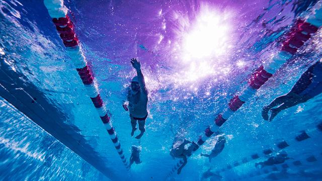 Underwater, Oregon, Freestyle, Warm-up,