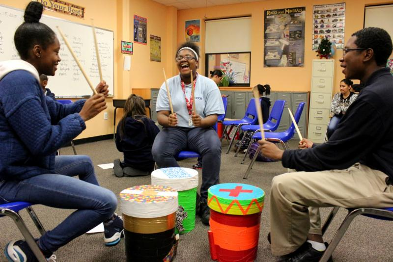 After-School Percussion Ensemble