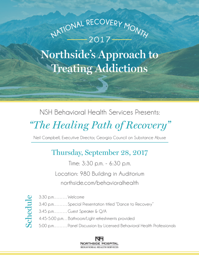 "NSH Behavioral Health Services: ""The Healing Path of Recovery"""