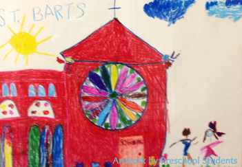 art by preschool students