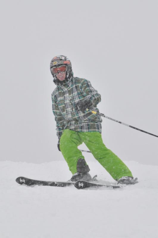 Photo of Barclay downhill skiing