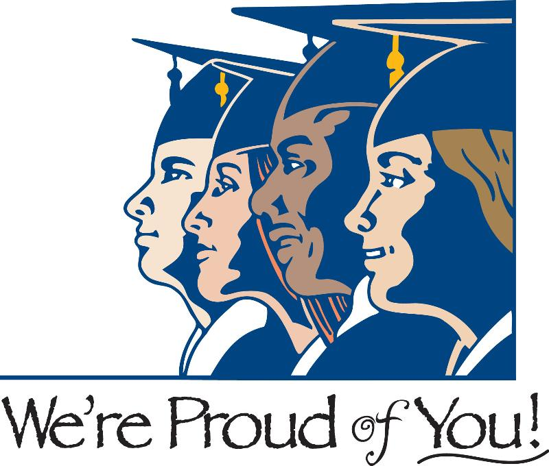 Graduates We're Proud of You