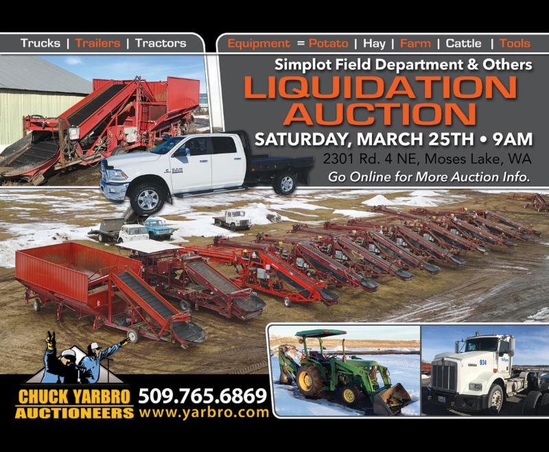 Don\'t forget!! The ML Simplot Field Department Liquidation & Others ...
