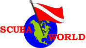 scuba world logo