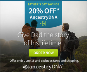 Click here to buy an AncestryDNA kit for jut _79 - save 20__