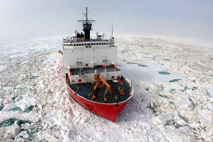 Healy, Coast Guard
