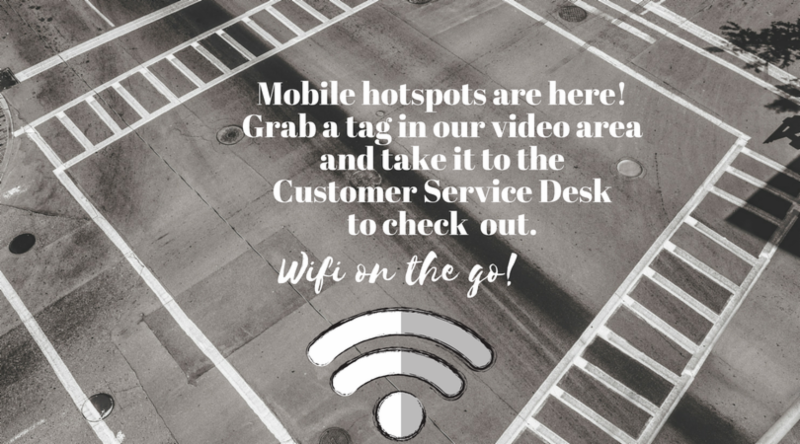 mobile hotspots are here to check out