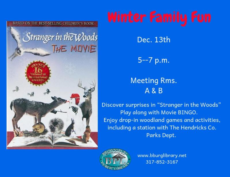 winter family fun december 13 5 pm