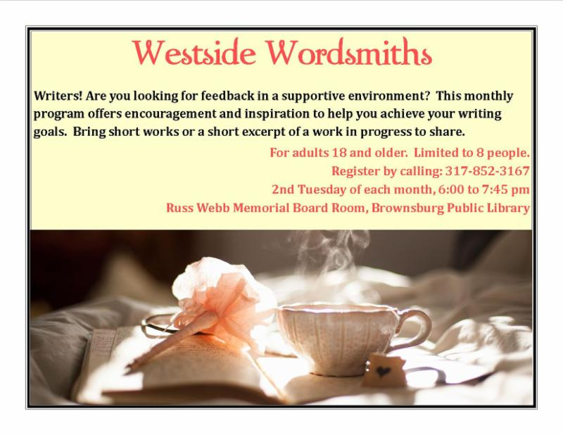westside wordsmiths august 8 6 pm