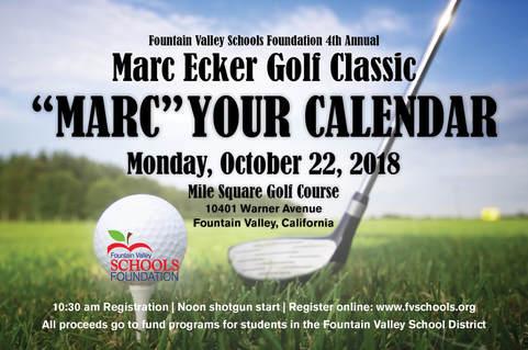 Marc Ecker Golf Tournament