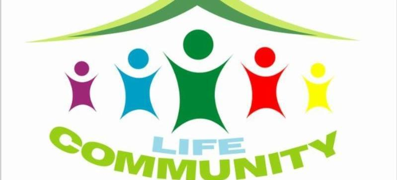 Life Community symbol colorful image with high constrast colors