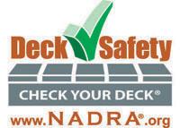 Deck Safety Month Logo