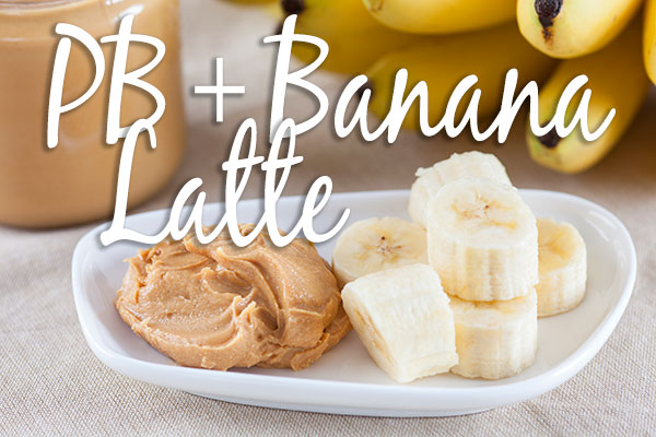 Peanut Butter and Banana Latte