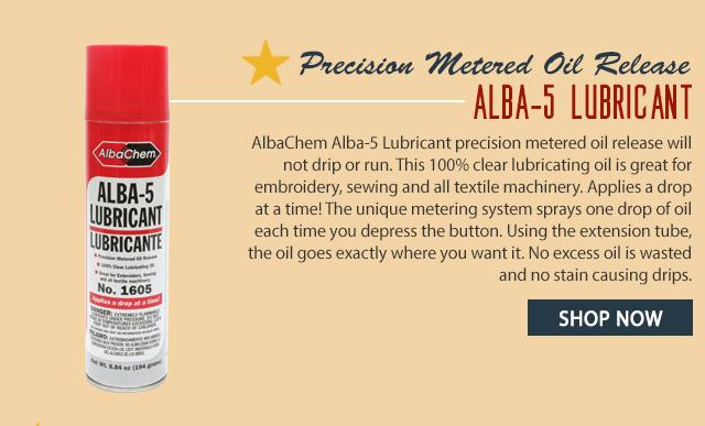 alba-5 lubricant precision metered oil release