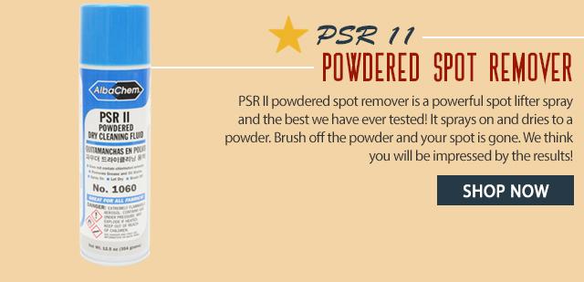 psr 2 powdered spot remover