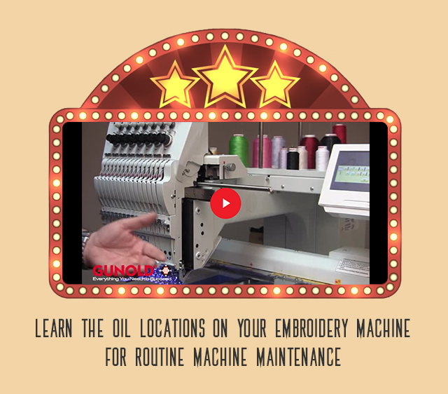 machine oiling locations video