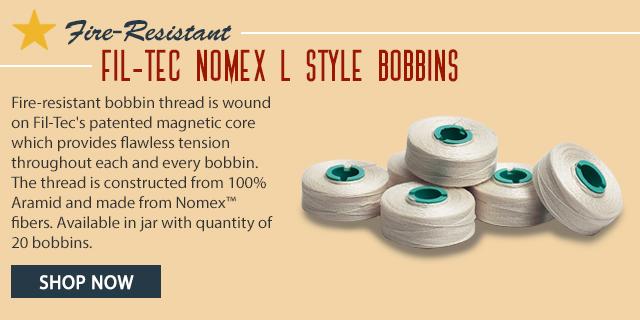 fire resistant fil-tec nomex l style bobbins shop now