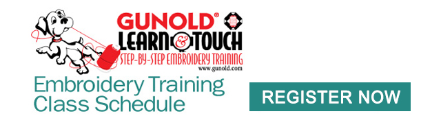 embroidery training class schedule