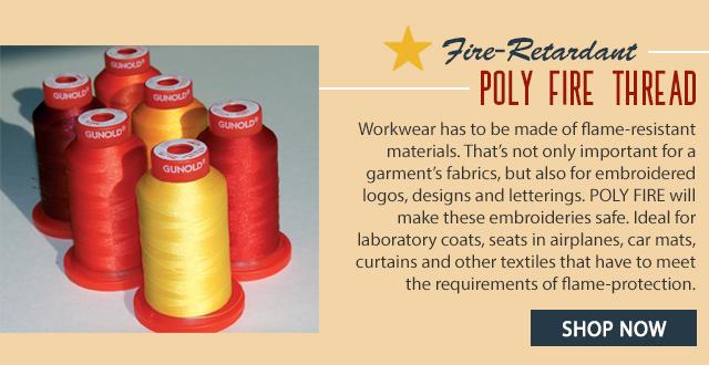 fire retardant poly fire thread shop now