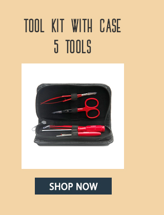 tool kit with case 5 tools shop now