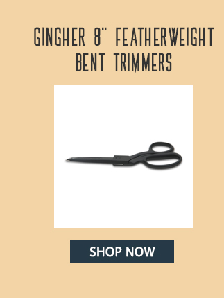 gingher 8 inch featherweight bent trimmers