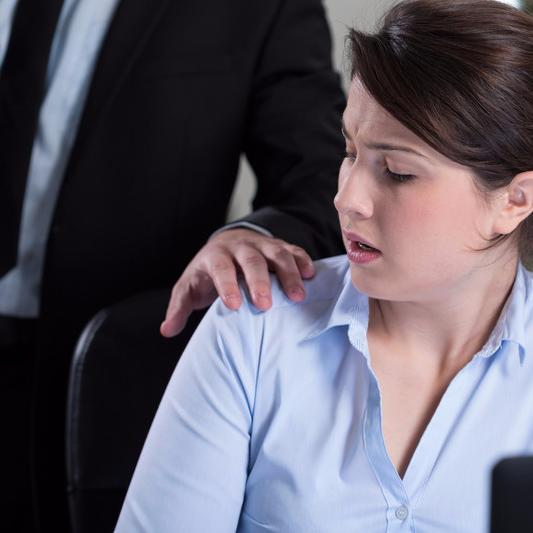 Worker workplace sexual harassment