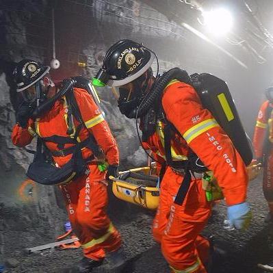 Underground mine workers