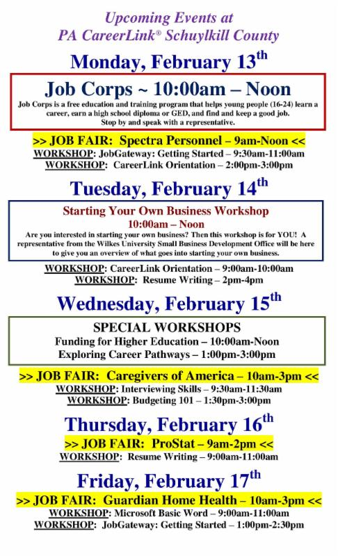 looking for a career change check out our upcoming job fairs
