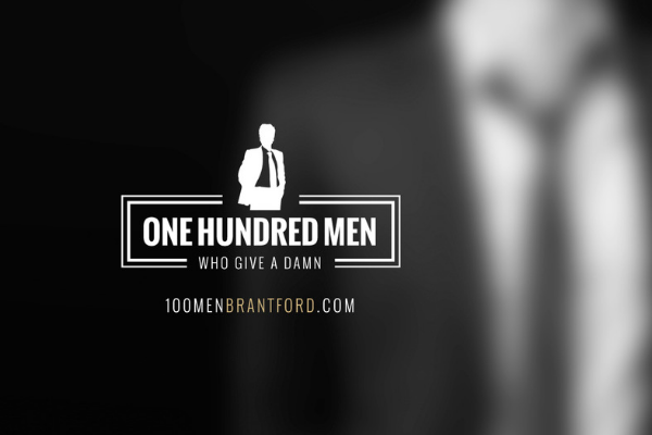 100 Men Who Give a Damn Brantford - LOGO