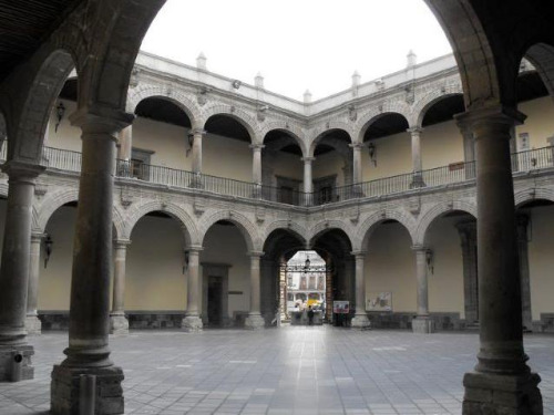 Patio del Palacio de la Inquisición