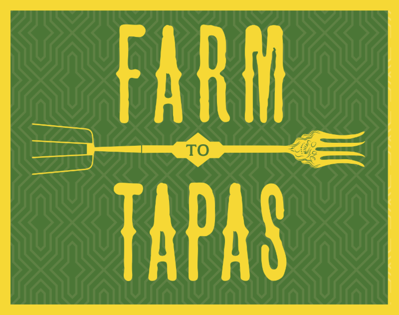 Click here to get your tickets for Farm to Tapas_