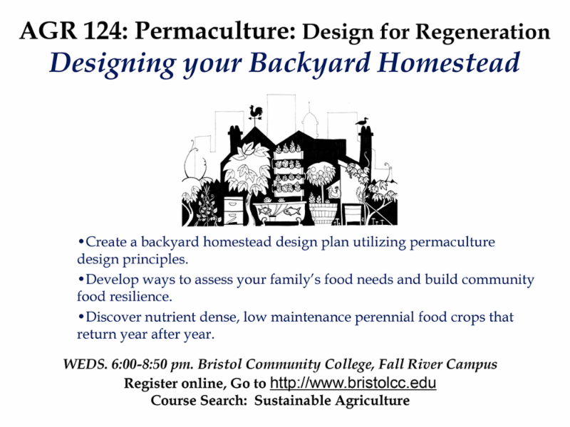 Learn more about the BCC Permaculture Course