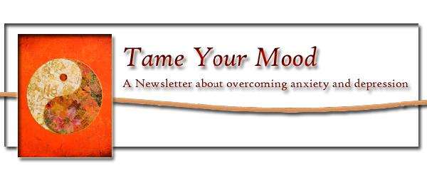 Tame Your Mood Newsletter